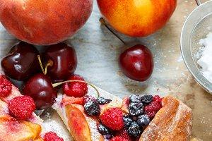 Galette fruit
