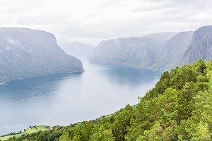 Misty Fjord in Norway