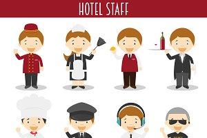 Hotel Staff Professions