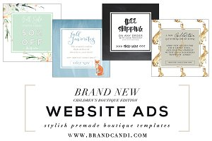 Boutique Website Ads