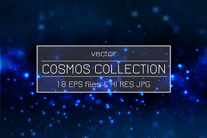 Vector Cosmos and Space Collection