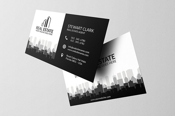 Real estate business cards templates free sxmrhinocom free real real estate business card template business card templates real estate business cards templates free accmission Images