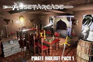Asset Arcade Pirate Hideout Pack 1