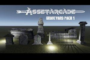 Asset Arcade Graveyard Pack 1