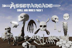 Asset Arcade Skull and Bones Pack 1