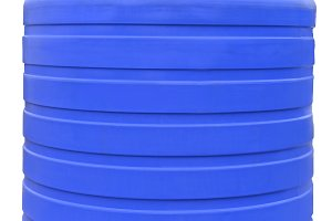 Plastic liquids barrel storage