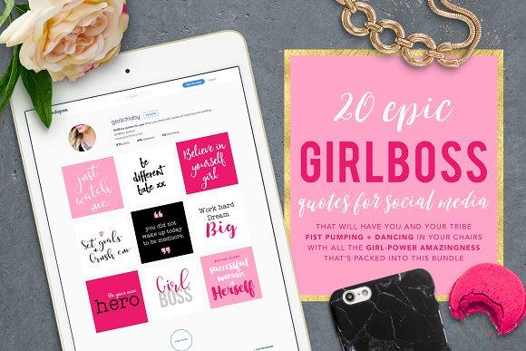 Girl Power Quotes Instagram Women Empowerment Quotes