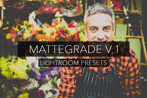 Matte Grade V.1 - Lightroom