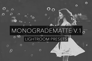 MonoGrade Matte V.1 - Lightroom