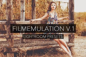 Film Emulation V.1 - Lightroom