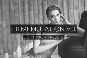 Film Emulation V.3 - Lightroom