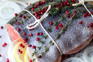 rainbow trout for baking