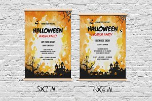 Halloween Invitation Flyer-V406