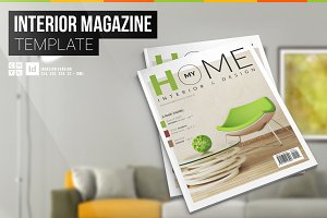 My Home – Interior Magazine Template