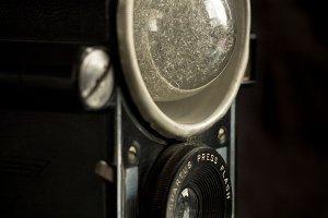 Vintage Camera Flashbulb