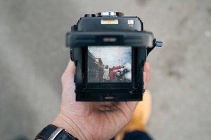 Medium Format Camera Viewfinder