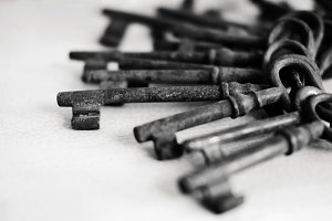 rusty old keys