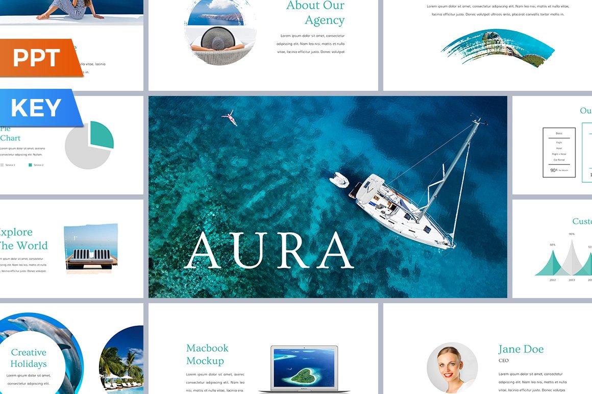 Aura presentation template presentation templates creative market toneelgroepblik Image collections