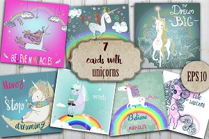 Magic unicorns collection