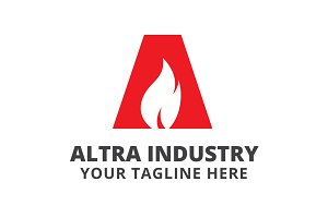 Altra Industry Logo Template