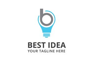 Best Idea Logo Template