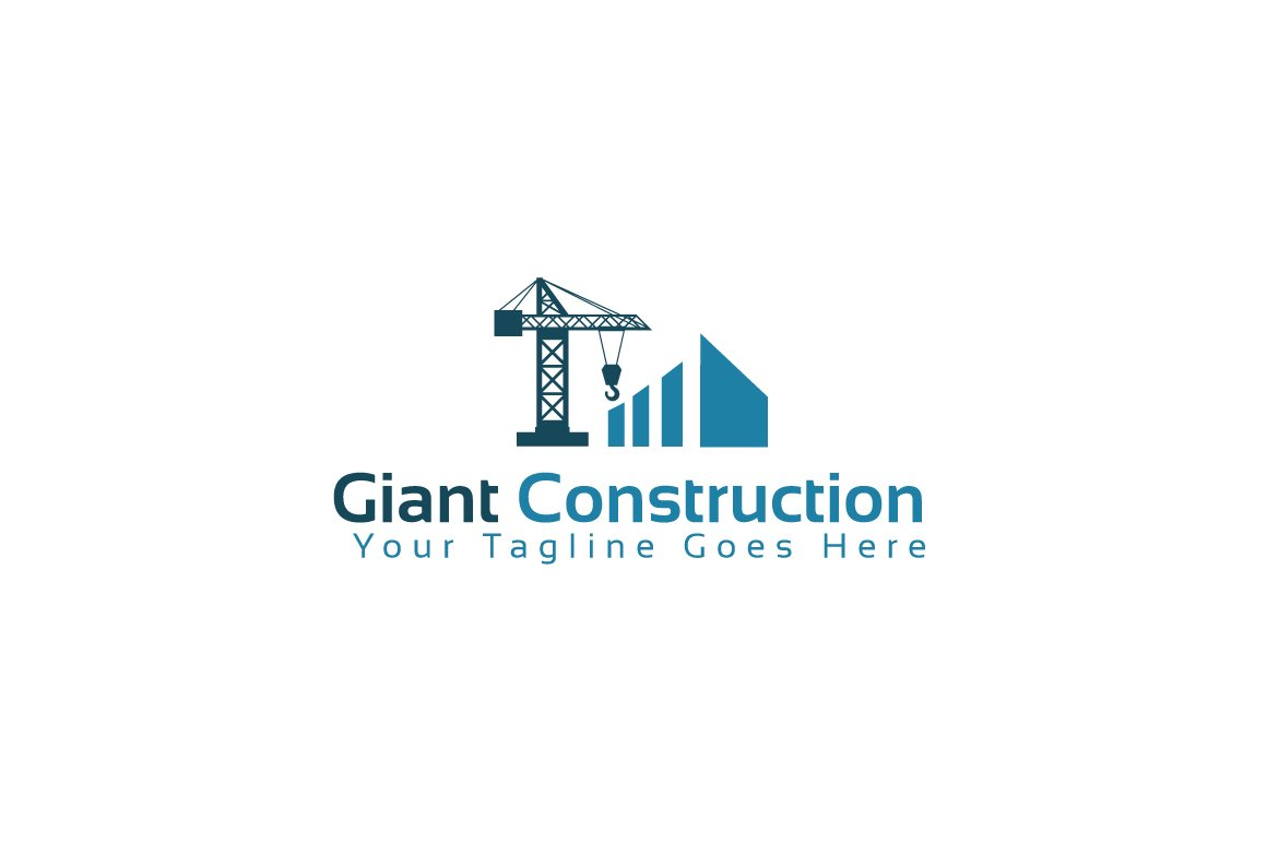 Giant construction logo template logo templates for Design company usa