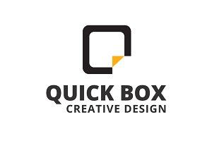 Quick Box Logo Template