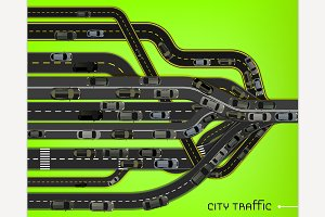City Traffic Roads