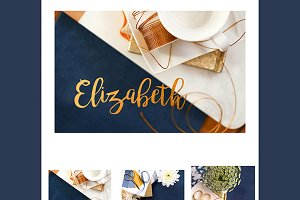 The Elizabeth Styled Stock Photo Set