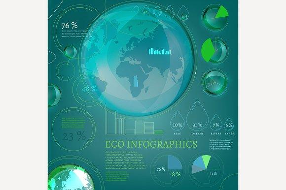 Bio Infographics in Illustrations