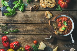 Italian roasted tomato soup
