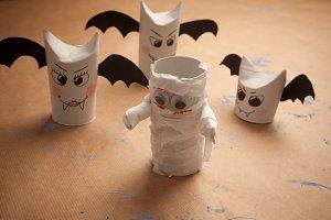Tolilet paper roll craft