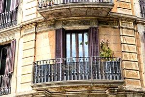 Balcony, Barcelona