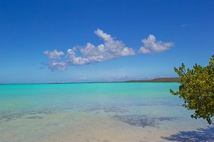 Perfect beach at ideal island