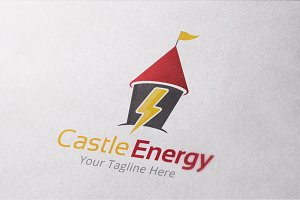 Castle Energy Logo Template