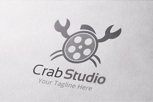 Crab Studio Logo Template