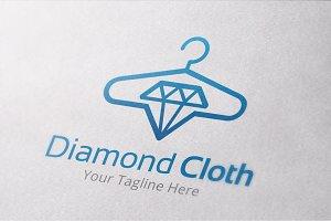 Diamond Cloth Logo Template