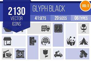 2130 Glyph Icons (V3)