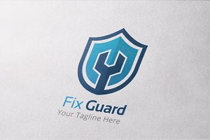 Fix Guard Logo Template