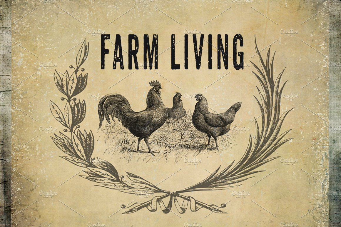 It's just a photo of Geeky Free Farmhouse Clipart