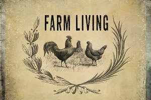 Farm Living Clipart & Backgrounds