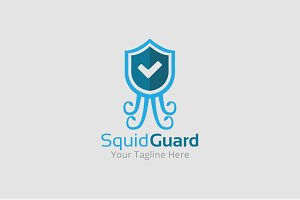 Squid Guard Logo Template