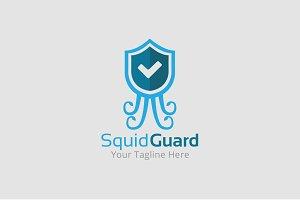 Squid Guard Logo Template