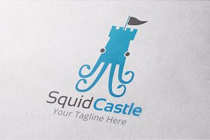 Squid Castle Logo