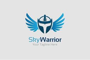 Sky Warrior Logo Template