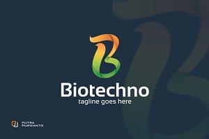 Biotechno / Letter B - Logo Template