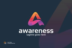 Awareness / Letter A - Logo Template