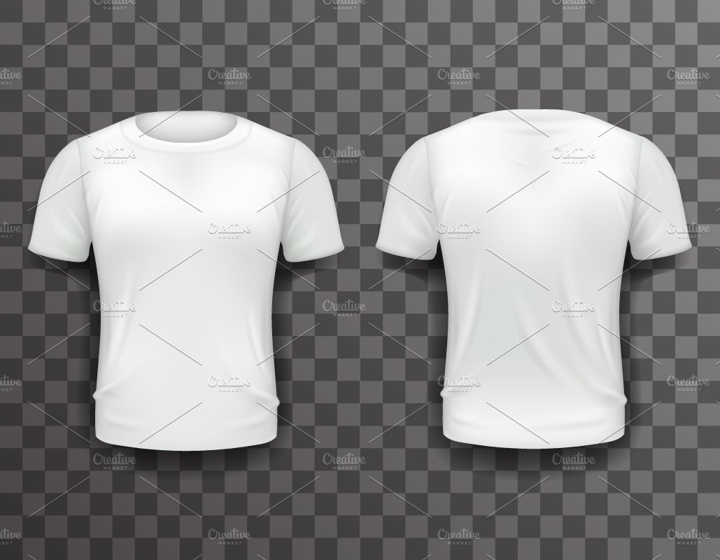 T-shirt Template ~ Illustrations ~ Creative Market