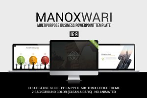 Manoxwari Business Powerpoint