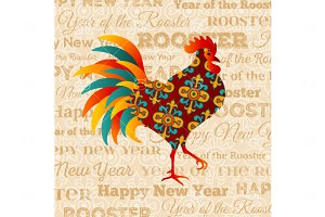 Rooster Scrapbooking style